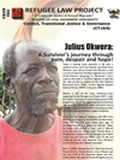 Julius Okwera: A Survivor's journey through pain, despair and hope!